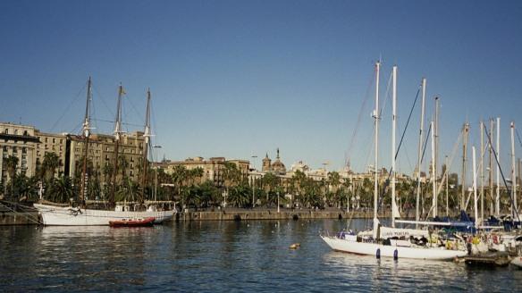 Alter Hafen von Barcelona / Barcelona's old harbor