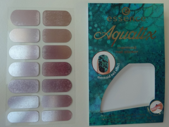 essence aquatix mermaid nail sticker