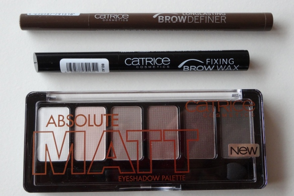 Catrice Absolute Matt, Fixing Brow Wax & Long Lasting BrowDefiner