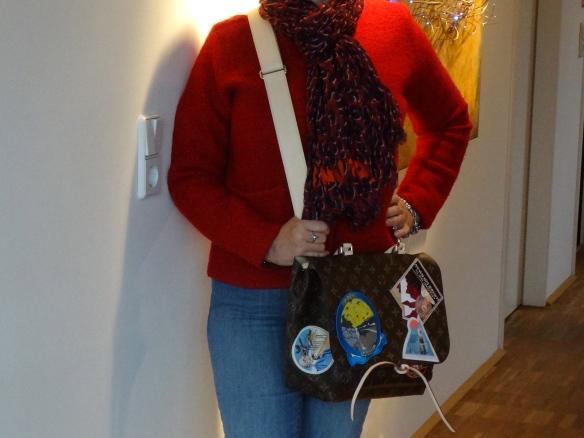 Me and my new LV Cindy Sherman Messenger Camera bag