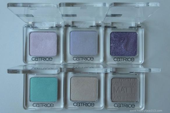 Catrice Absolute Eye Colour Mono Eyeshadows