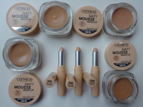 Catrice Matt Mousse Make-Up und Allround Coversticks